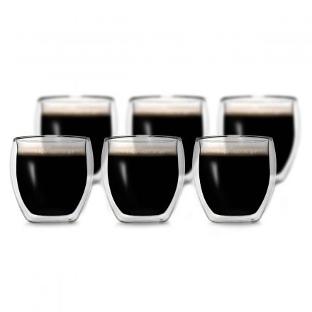 Creano Thermoglas Espresso 6er-Set 100 ml