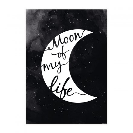 loopdsgn Poster Moon of my Life