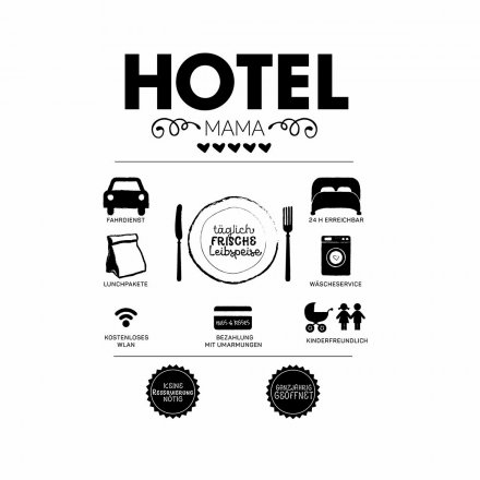 Formart Statement-Poster Hotel Mama