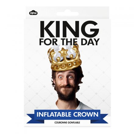 Aufblasbare Krone King for a Day