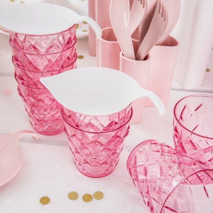 Koziol Becher Crystal S transparent pink