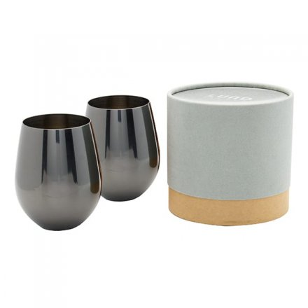 Lund London Cocktailgläser-Set Lund Luxe metallic