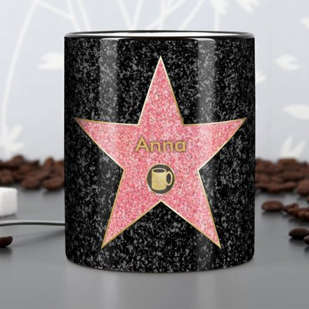 personalisierbare tasse walk of fame online kaufen. Black Bedroom Furniture Sets. Home Design Ideas
