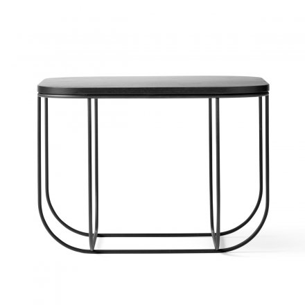 Menu Beistelltisch FUWL Cage Table black/dark ash