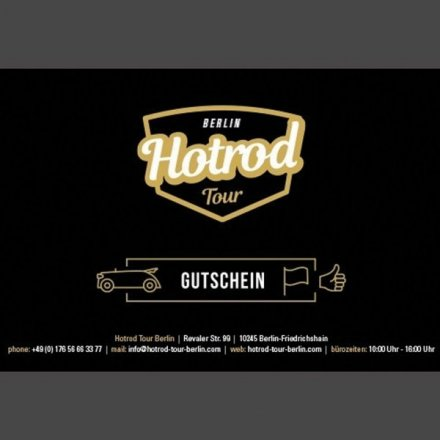 Hot Rod Tour durch Berlin