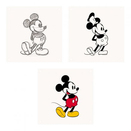 IXXI Wanddekoration Mickey Mouse Animation