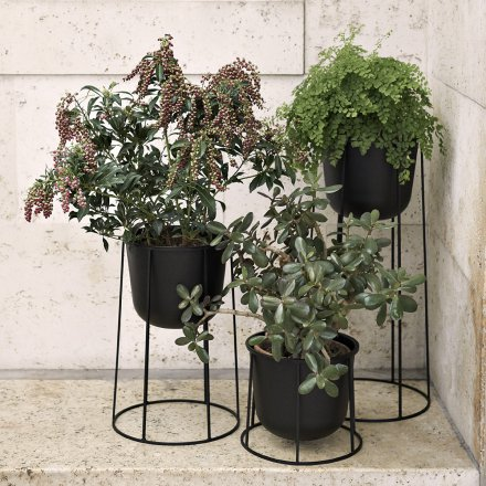 Menu Blumentopf Wire Pot