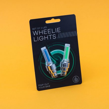 Thumbs Up Fahrradradleuchten Wheelie Lights im 2er Set