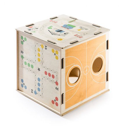 Spielewürfel/Hocker Kids Qube