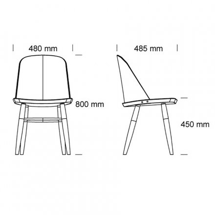 Menu Stuhl Synnes Chair