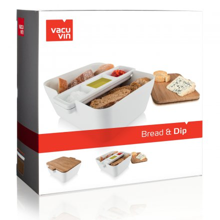Vacu Vin Servierschale Bread & Dip