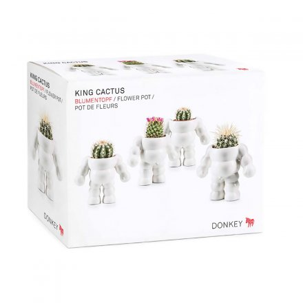 Donkey Products Blumentopf King Cactus
