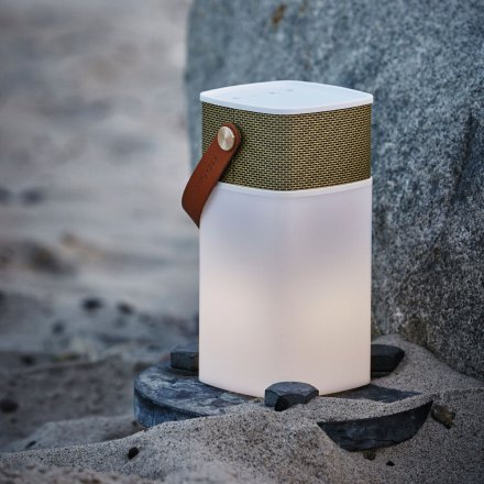 Kreafunk Multifunktionaler Bluetooth-Lautsprecher aGlow