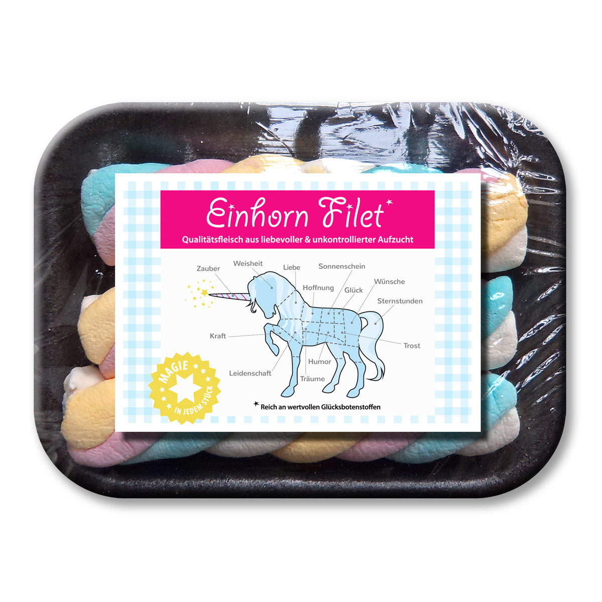 Liebeskummerpillen einhorn filet for Design 3000 de