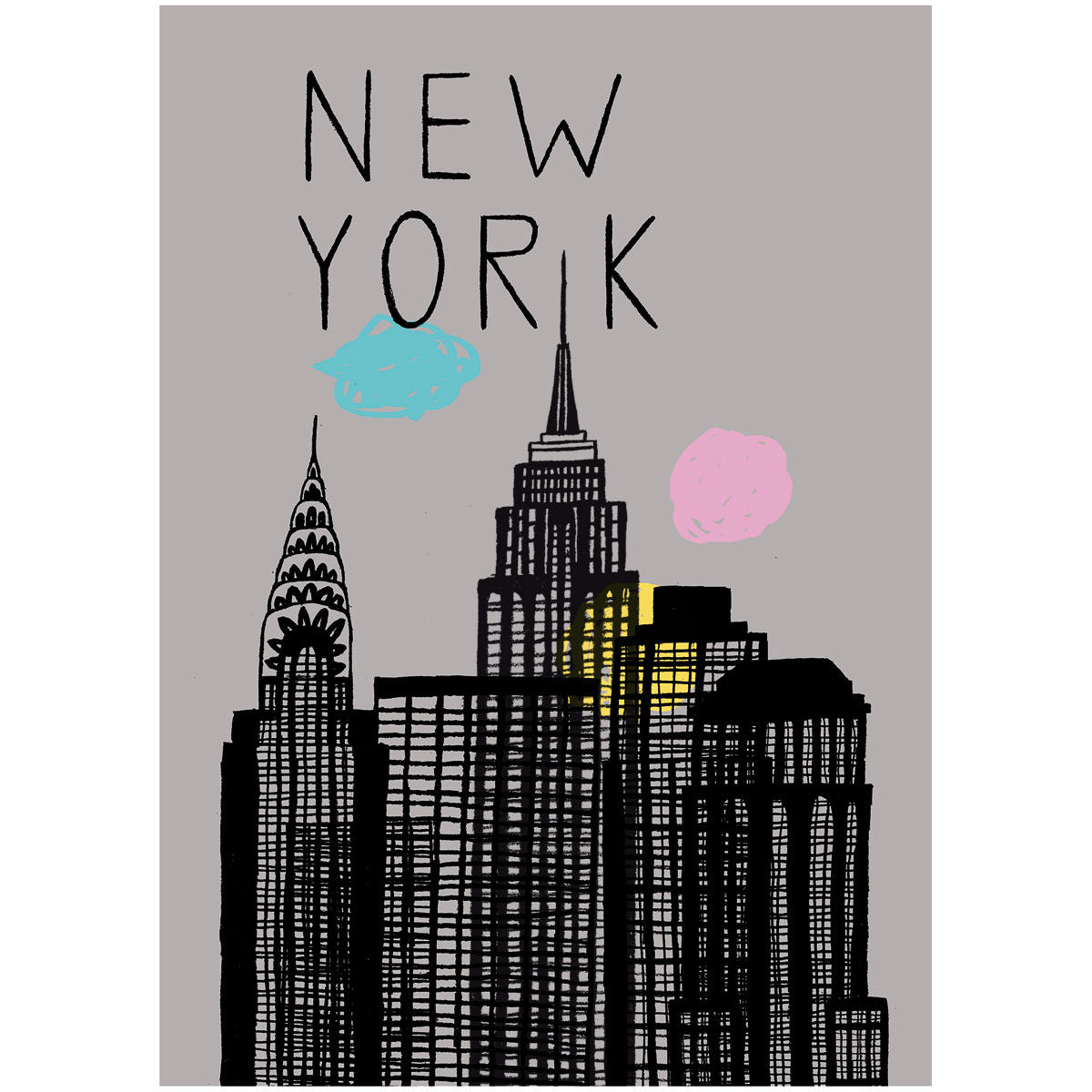 Poster new york for Design 3000 de